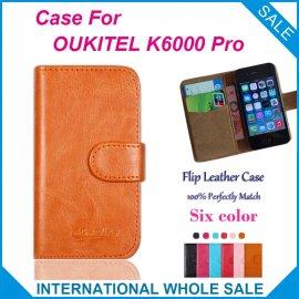 Pouzdro pro Oukitel K6000 Pro, flip, peněženka, PU kůže