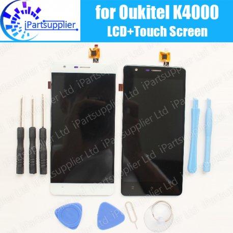 Obrazovka LCD pro Oukitel K4000 + dotyková obrazovka digitizer, original