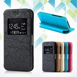 Case for Ulefone Power, flip, view window, PU leather
