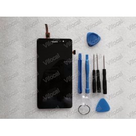LCD screen for Lenovo S860 LCD + touch layer digitizer + frame