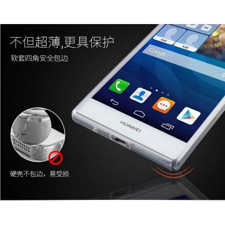 Pouzdro pro Huawei P7 P8 P8 lite P8mini P9 P9 lite Honor 4x 4A 4C 5X 6 6 PLUS G7 Mate7 8, silikon