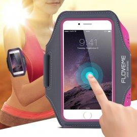 Pouzdro na ruku Floveme pro iPhone 7 6S / Plus 5s SE Samsung Galaxy S5 S6/ S6Edge/ S7, voděodolné, univerzální