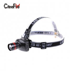 Headlamp CreeFire H1 3W LED 3-modes, white light, zoom