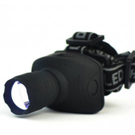 Headlamp / Flashlight LED, 3 Mods, 500lm ZOOM, waterproof