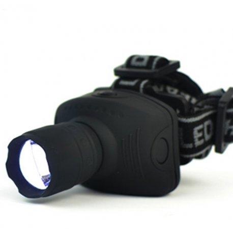 Čelovka / Svítilna LED, 3 Mody, 500lm ZOOM, voděodolná