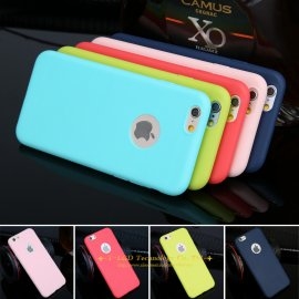 Case for iPhone X 6 6s 5 5s SE 7 7 Plus, TPU Silicone