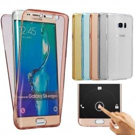 Puzdro pre Samsung Galaxy A3 A5 A7 J5 J7 2016 J1 J3 Grand Prime S4 S5 S6 S7 Edge S8, silikón
