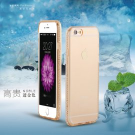 Pouzdro pro iPhone 5 5S 6 6S Plus, Ultra tenké, gelové