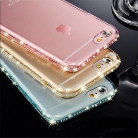 Case for iPhone 5 5S 6 6S Plus, Ultra thin, gel
