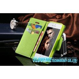 Puzdro pre iPhone 4 4S 4G, PU kože, flip