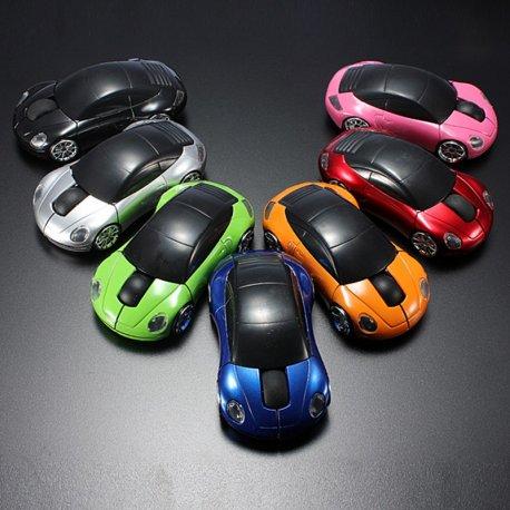 Myš Auto, optická, 3 tl., 2.4Ghz USB 1600DPI
