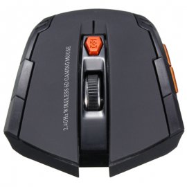 6-button mouse, gaming, 2.4Ghz wireless, optical 2000DPI