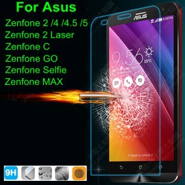 Tvrdené sklo pre Zenfone 2 ZE500CL ZE551ML 5 Laser ZE500KL ZE550KL Go MAX, Tempered glass 9H, Anti explosion, 0.3mm