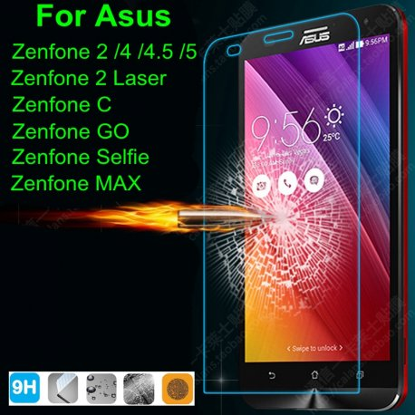 Tvrzené sklo pro Zenfone 2 ZE500CL ZE551ML 5 Laser ZE500KL ZE550KL Go MAX, Tempered glass 9H, Anti explosion, 0.3mm