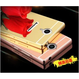Case for Lenovo K80 K80m K80 P90, ALU, mirror effect