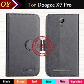 Pouzdro pro Doogee X7 Pro, flip, PU kůže