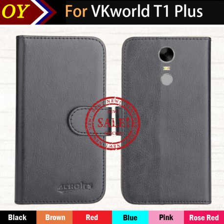 Pouzdro pro VKworld T1 Plus, flip, PU kůže