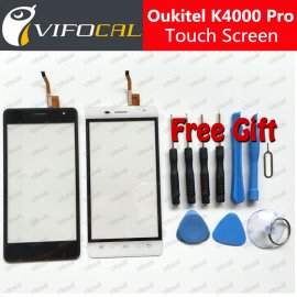 Dotyková obrazovka pro Oukitel K4000 Pro, digitizer + rámeček