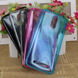 Case for HOMTOM HT17 HOMTOM HT17 PRO, TPU silicone