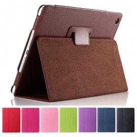 Case for Apple ipad 2 3 4, flip, PU leather