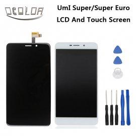LCD obrazovka pro Umi Super F-550028X2N LCD + dotyková vrstva digitizer + rámeček