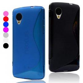 Púzdro pre LG Google Nexus 5 D820, TPU silikón