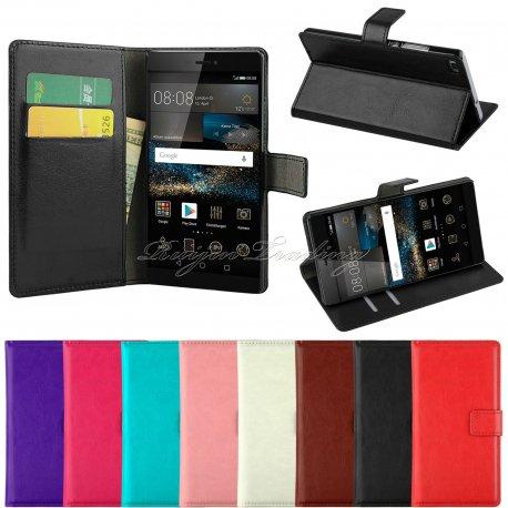 Pouzdro pro Huawei P7 P8 P8 Lite Y330, PU kůže, flip