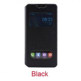Pouzdro pro Blackview BV5000, flip, view window, PU kůže