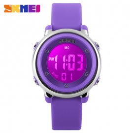 Kids Watch SKMEI 2019, LED, 50M waterproof