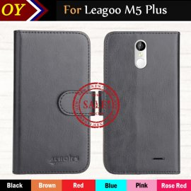 Case for Leagoo M5 Plus, flip, stand, PU leather
