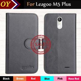 Puzdro pre Leagoo M5 Plus, flip, stojan, PU kože