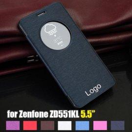 Puzdro pre ASUS Zenfone Selfie ZD551KL, view window, PU kože
