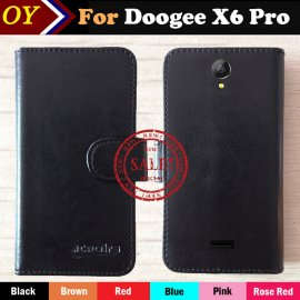 Case for Doogee X6 Pro, flip, magnet, wallet, PU leather