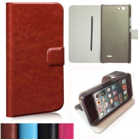 Case for Oukitel C4, flip, magnet, wallet, PU leather
