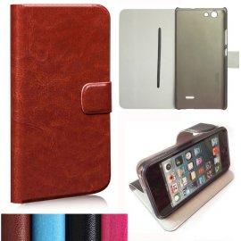 Puzdro pre Oukitel C4, flip, magnet, peňaženka, PU kože