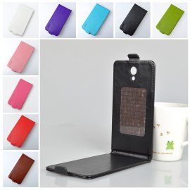 Case for Homtom HT7, flip, magnet, PU leather