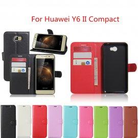 Puzdro pre Huawei Y6 II Compact / Y6 2 Compact, flip, stojan, peňaženka