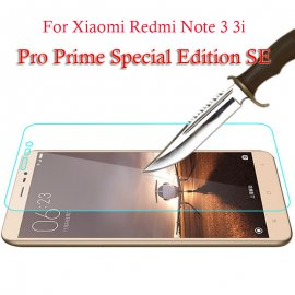 Tempered glass for Xiaomi Redmi Note 3 Pro SE 152mm Special Edition Global LTE, Tempered glass 9H, Anti explosion