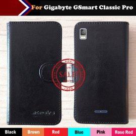 Puzdro pre Gigabyte GSmart Classic Pro, flip, peňaženka, PU kože
