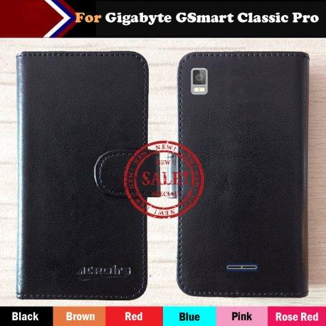 Pouzdro pro Gigabyte Gsmart Classic Pro, flip, peněženka, PU kůže