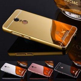 Pouzdro pro Xiaomi Mi5 Mi4 Xiaomi Mi4C Mi4S Case Redmi 2 Redmi 3 Redmi Note 3 Pro Note 2, Aluminum, zrcadlový efekt