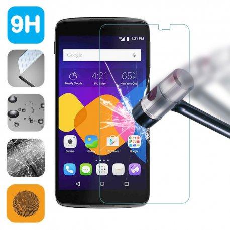 """Tvrzené sklo pro Alcatel One Touch Pop 3 5.0 5.5 Pixi 3 4.0 4.5 4027 5.0 idol 3 4.7 5.5"""" POP4 4S Pixi 4 C5 C7, Tempered glass 9H"""