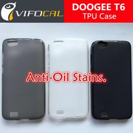 Case for DOOGEE T6 DOOGEE T6 PRO, TPU silicone