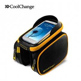 Pouzdro na jízdní kolo ROSHWHEEL, voděodolné, kapsička na telefon, výstup na sluchátka, uchycení na rám