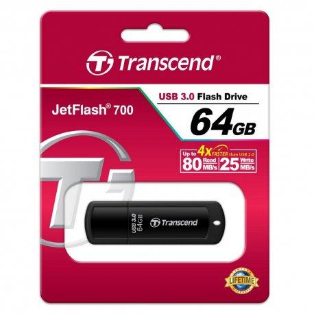 Flash Disk Transcend JF700 64GB 32GB 16GB USB 3.0 Flashdisk