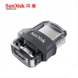 Flash Disk Sandisk SDDD3 Extreme High Speed 150M / S 16GB 32GB 64GB 128GB Dual OTG USB 3.0 Flash Drive