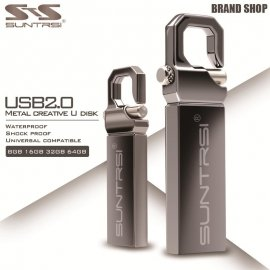 Flash Disk Suntrsi, kov, 16GB 32GB 64GB USB 2.0