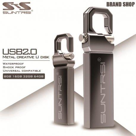 Flash Disk Suntrsi, kov, 16GB 32GB 64GB USB 2.0