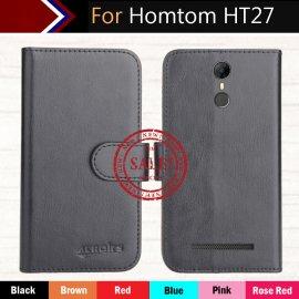 Case for HOMTOM HT27, flip, wallet, stand