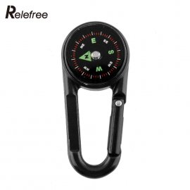 Carabiner 3in1, thermometer, compass